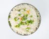 ارز مقلي بالخضار
